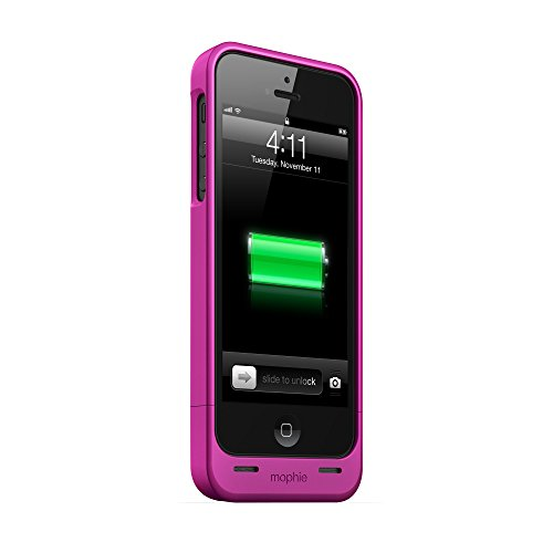mophie ジュース パック Helium for iPhone 5/5s/5se (1,500mAh) - ピンク 「汎用品」(海外取寄せ品)