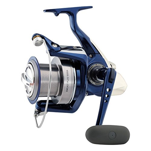 Daiwa Emcast Plus 5000A Spinning Reel, シルバー (海外取寄せ品)