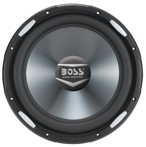 BOSS Audio AR12D 2400 ワット, 12 インチ, デュアル 4 Ohm Voice Coil Car Subwoofer (海外取寄せ品)
