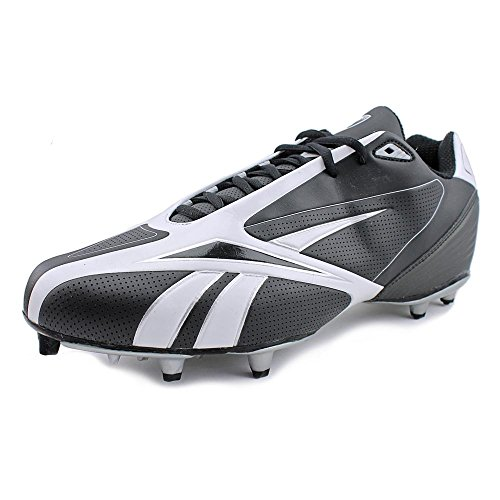 Reebok メンズ NFL Burner Spd III ロー M3 Football Cleat,Black/White,14 M (海外取寄せ品)
