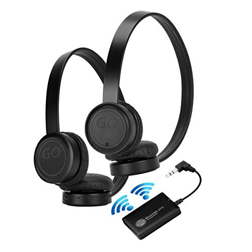 GOgroove BlueVIBE 2 TV ブルートゥース Wireless Headphones Television Connection キット with Plush Lightweight Ear カップ , Transmitter and イージー Setup - グレート for Parents, ルームメイト, キッズ and トラベル Use 『海外取寄せ品』