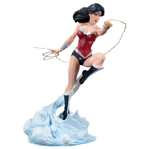 DC Collectibles カバー ガールズ of The DC ユニバース: ワンダーウーマン Wonder Woman (DC コミック - The New 52) Statue (海外取寄せ品)