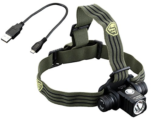 JETBeam HR25 Rechargeable LED Headlamp, 800 lm 「汎用品」(海外取寄せ品)