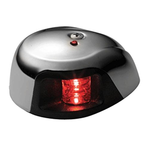 Attwood 3550R7 マリーン レッド Sidelight 3500 Series 12V 2-Mile LED マリーン RV Boating Accessories (海外取寄せ品)