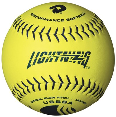 Demarini レザー Polycore Usssa Softballs Not Applicable スタイル: WTALL12-YUM サイズ: 12INCH OFCL (海外取寄せ品)