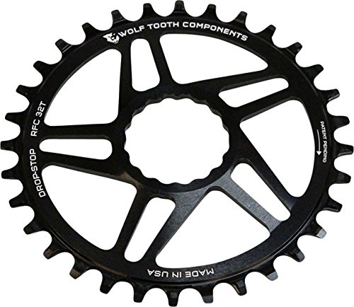 Wolf Tooth コンポーネント ドロップ-ストップ Chainring: 28T, for RaceFace Cinch ダイレクト Mount, ブースト Chainline (海外取寄せ品)