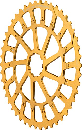 Wolf Tooth コンポーネント Giant Cog for SRAM XX1/X01 ゴールド, 46t (海外取寄せ品)