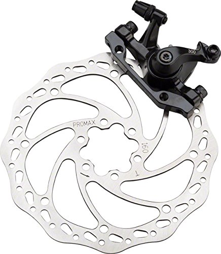 Promax DSK-300 フロント Mechanical ディスク Brake IS Mount With 160mm Rotor ブラック (海外取寄せ品)