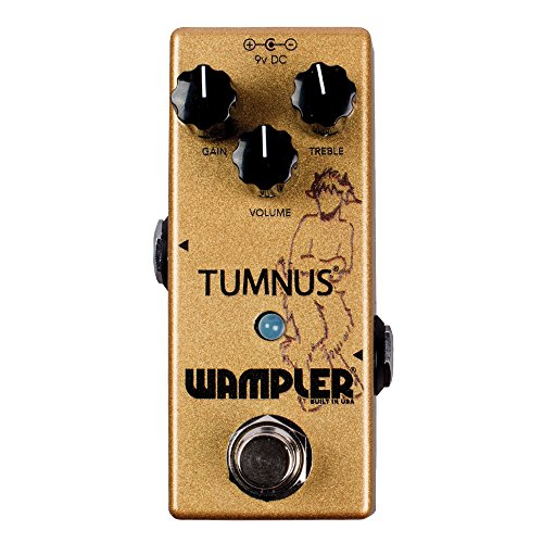 Wampler Pedals Tumnus V2 Overdrive/ブースト Effects Pedal (海外取寄せ品)