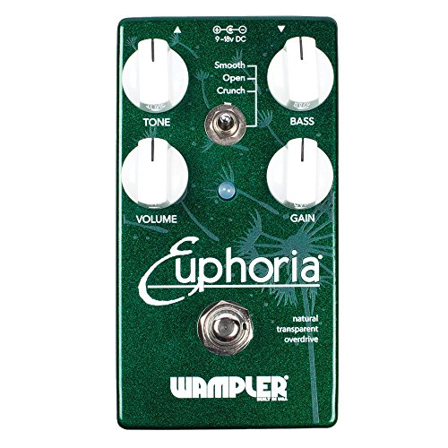Wampler Pedals Euphoria V2 Overdrive Effects Pedal (海外取寄せ品)