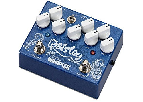 Wampler The ペーズリー ドライブ Deluxe Stomp ボックス Effects Pedal (海外取寄せ品)