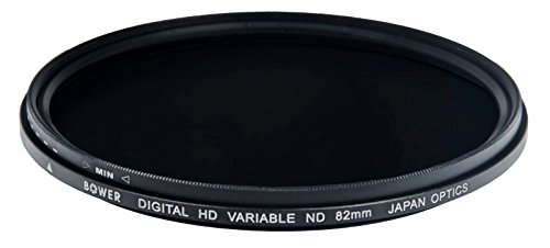 Bower FN82 82mm Variable ニュートラル Density フィルタ for キャノン Canon EF and Pentax HD PENTAX-DA645, Pentax smc FA 645 Lenses (Black) (海外取寄せ品)