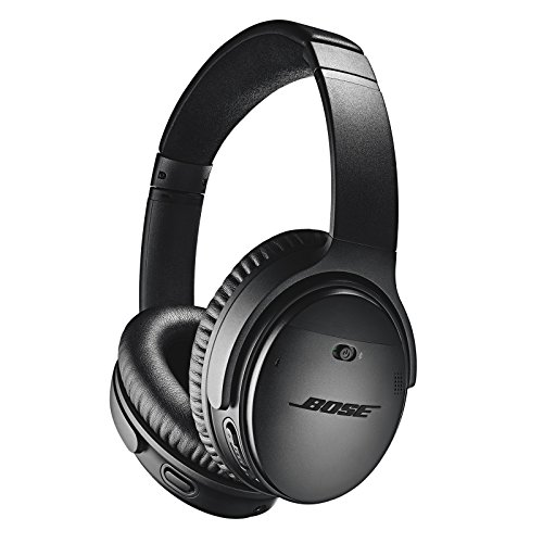 Bose QuietComfort 35 (Series II) Wireless Headphones, Noise Cancelling - ブラック 『海外取寄せ品』