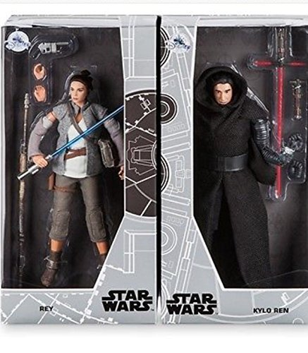 D23 2017 EXPO スターウォーズ Star wars KYLO REN AND REY FIGURES LE 1000 (海外取寄せ品)
