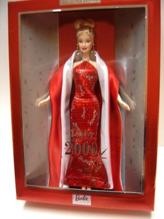 【保障できる】 Mattel 2000 Year 2000 Barbie バービー Barbie Collectibles Series コレクター - Edition 12 インチ ドール - バービー Barbie 2000 with エレガント レッド ガウン, Earrings, Stole, シューズ, ドール Stand and Certificate of Authenticity (27409) (海外取寄せ品), ホウジョウシ:3c098bdb --- clftranspo.dominiotemporario.com