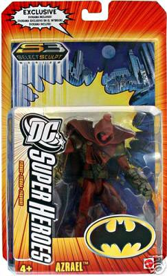 DC SUPERHEROES ジャスティス リーグ Justice League UNLIMITED AZRAEL Figure (海外取寄せ品)