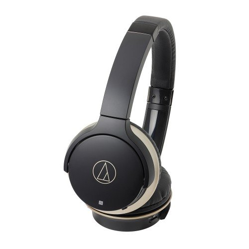 【エントリーでポイント10倍!4月30日まで】Audio-Technica ATH-AR3BTBK SonicFuel Wireless On-Ear Headphones with Mic & Control, ブラック 『海外取寄せ品』