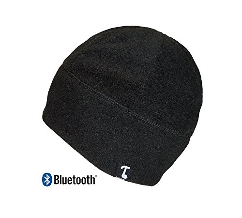 Tooks ブルートゥース Wireless POLARCAP フリース Headphone Beanie With ビルトイン リムーバブル Headphones | Integrated Microphone, Volume and ミュージック/Call Control | Listen To ミュージック and ハンドル Phone Calls Remotely 『海外取寄せ品』