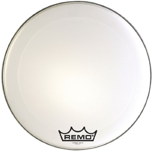 Remo PM2032-MP-U Powermax 2 Ultra ホワイト Crimp ロック Bass Drumhead, 32