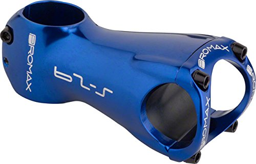 ProMax S-29 0 Degree Rise Stem, ブルー, 80mm (海外取寄せ品)