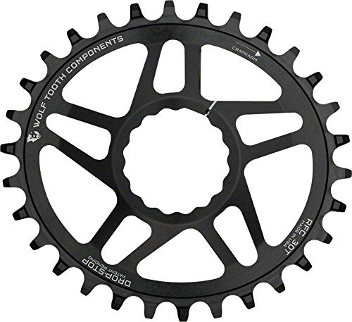 Wolf Tooth コンポーネント Elliptical ドロップ-ストップ Chainring: 40T, for RaceFace Cinch ダイレクト Mount, ブースト Chainline (海外取寄せ品)
