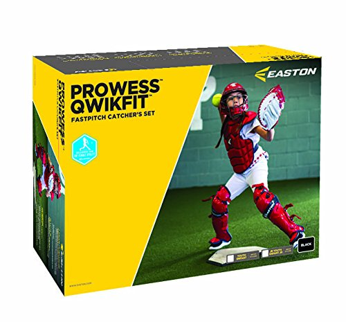 Easton Prowess Qwikfit ファスト Pitch Catcher's ボックス セット , ネイビー (海外取寄せ品)