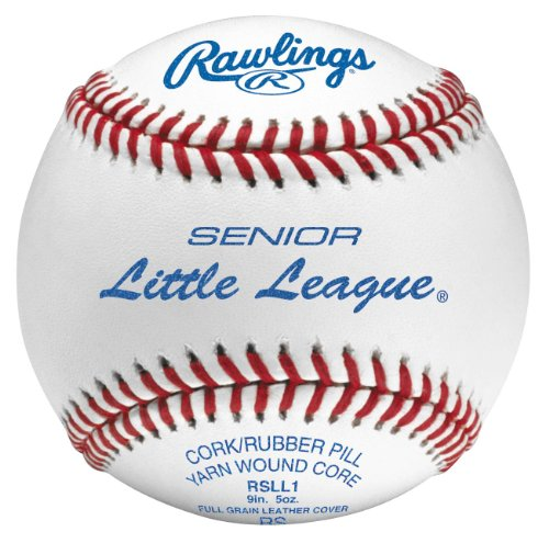 Rawlings Raised Seam Baseballs, Senior リトル リーグ Competition Grade Baseballs, ボックス of 12 , RSLL1 (海外取寄せ品)