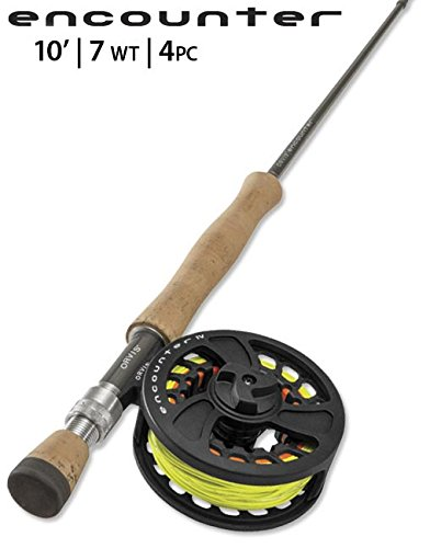 Orvis Encounter 7-weight 10' フライ Rod Outfit (海外取寄せ品)