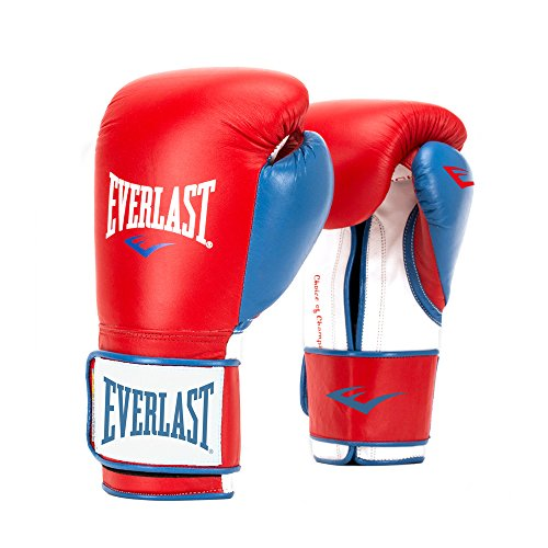 Everlast PowerLock Training Glove レッド/Blu PowerLock Training Gove, レッド/ ブルー, 16 oz (海外取寄せ品)
