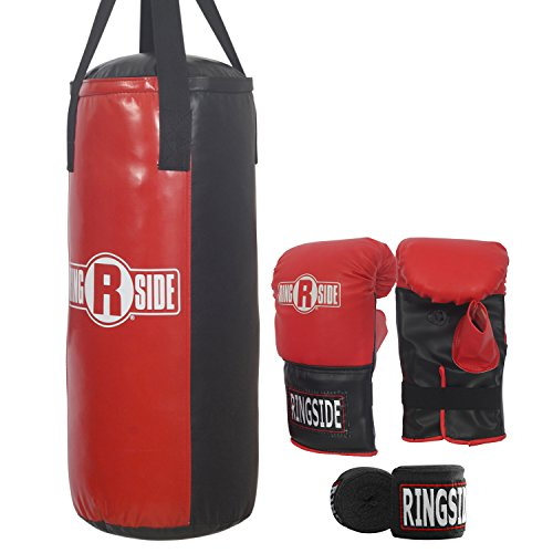 Ringside 40 lb Boxing Heavy Punching Bag キット (海外取寄せ品)