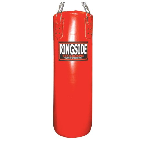 Ringside レザー Boxing 65 lb. Heavy Bag - ソフト Filled (海外取寄せ品)