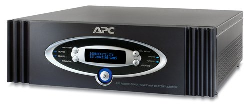 APC S20BLK AV ブラック Network Manageable 1.25kW S Type Power Conditioner 「汎用品」(海外取寄せ品)