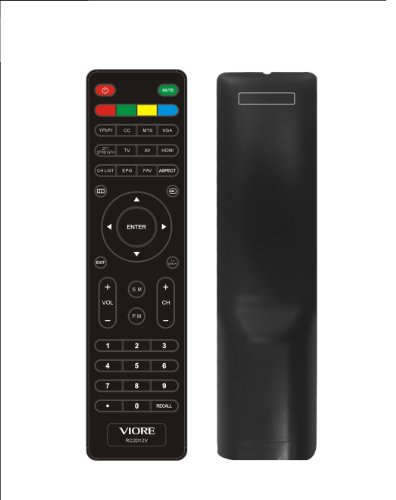 New Viore Rc2012v Remote Control for Led19vh50 Led19vh50m Led22vh50 Led22vf50 Led26vf50 Tv Remote 「汎用品」(海外取寄せ品)