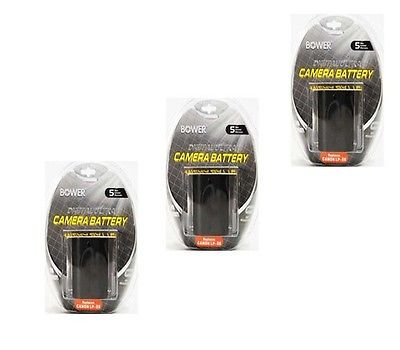 THREE 3X Batteries LP-E6 LP-E6N for Canon SLR EOS 5D マーク II, Canon EOS 7D, Canon 6D, Canon 70D, Canon 60D 「汎用品」(海外取寄せ品)