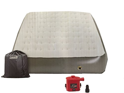 Coleman コンフォート ストロング 12-in Height Airbed with Portable Pump - クイーン 「汎用品」(海外取寄せ品)