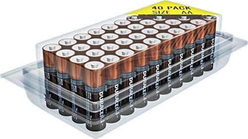 Duracell MN1500 Duralock コッパー Top Alkaline AA Batteries - 40 パック 「汎用品」(海外取寄せ品)