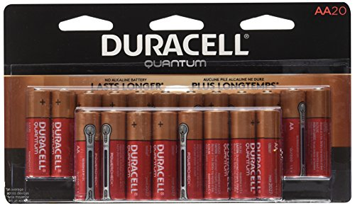Duracell Quantum Alkaline AA Batteries, 20-カウント 「汎用品」(海外取寄せ品)