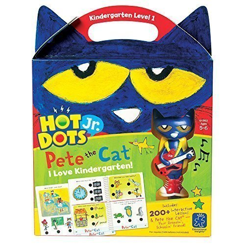 Educational Insights ホット Dots Jr. Pete the Cat I ラブ Kindergarten! セット 「汎用品」(海外取寄せ品)