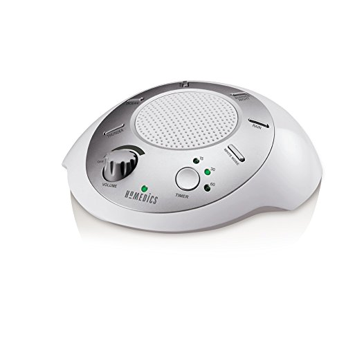 HoMedics, 2 パック Sound Spa Relaxation マシーン with 6 ネイチャー Sounds, SS-2000GAMZ-DP シルバー 「汎用品」(海外取寄せ品)