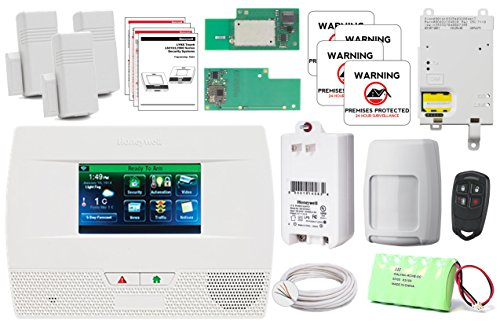Honeywell Lynx タッチ L5210 wireless ホーム security アラーム and automation GSM/Wifi/Zwave キット 「汎用品」(海外取寄せ品)