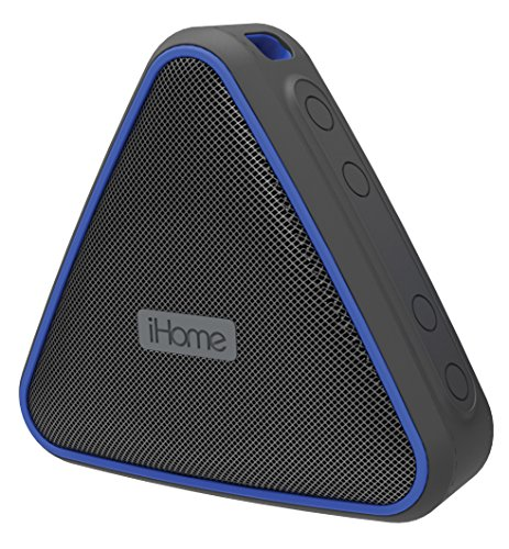 iHome iBT37BLC Portable 防水 Rechargeablebluetooth スピーカー with Speakerphone 「汎用品」(海外取寄せ品)