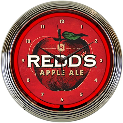 Neonetics 8MCRED Redds Apple Ale ネオン クロック 「汎用品」(海外取寄せ品)