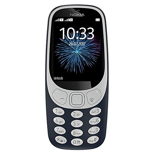 Nokia 3310 3G ファクトリー Unlocked Phone (AT&T/T-Mobile) - 32MB - 2.4