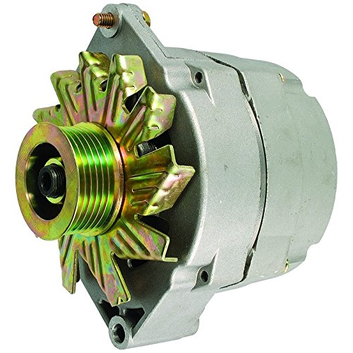 Parts プレーヤー New Alternator With 14.2 セット ポイント 1 Wire 6 Groove Pulley セルフ Excites 「汎用品」(海外取寄せ品)