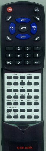 TOSHIBA リプレイスメント Remote Control for SDS9325, EUR646495, SCS3250, SAAX530, SADX830 「汎用品」(海外取寄せ品)