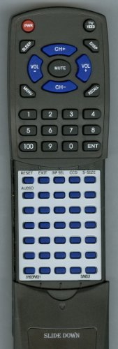 SANSUI リプレイスメント Remote Control for HDLCD1955, HDLCD1912, 076E0PV021, HDLCD1912G 「汎用品」(海外取寄せ品)