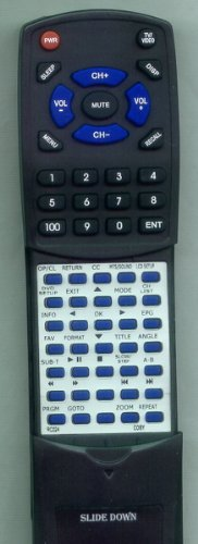 COBY リプレイスメント Remote Control for TFDVD1574, TFDVD2697, TFDVD2274, TFDVD1092 「汎用品」(海外取寄せ品)