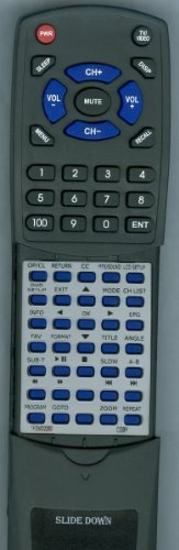 COBY リプレイスメント Remote Control for TFDVD2290 「汎用品」(海外取寄せ品)