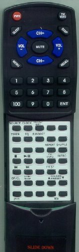 RCA リプレイスメント Remote Control for RS2044, RS2656, 271131, 269010, RS2044B 「汎用品」(海外取寄せ品)
