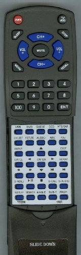 HAIER リプレイスメント Remote Control for TV562090, HTRD10, HLC19SL2, HLC22K1A, HLC32R1 「汎用品」(海外取寄せ品)